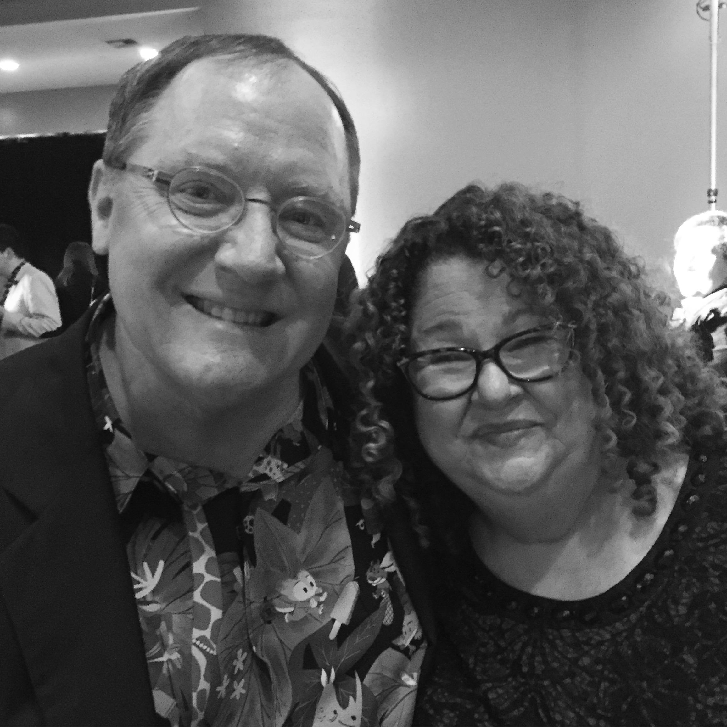 John Lasseter, Chief Creative Officer of Pixar. Marta Darby Star-Struck Blogger.