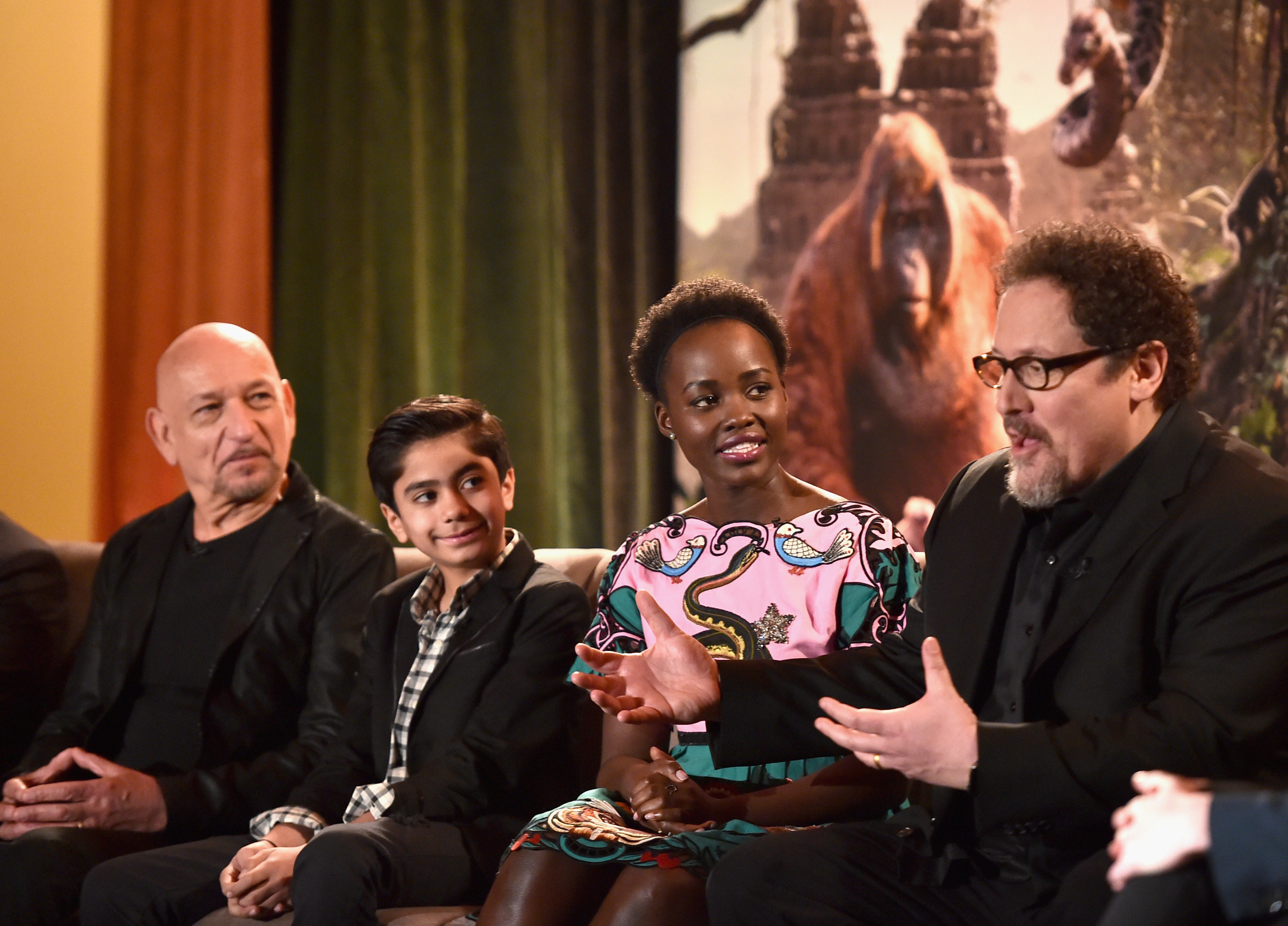 Director Jon Favreau explains his vision. Photo courtesy of Disney.