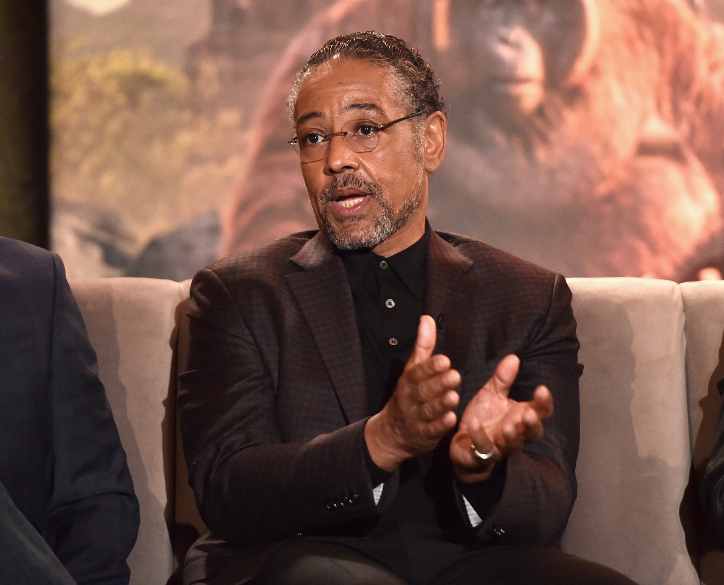 Giancarlo Esposito, the voice of Akela. Photo courtesy of Disney.