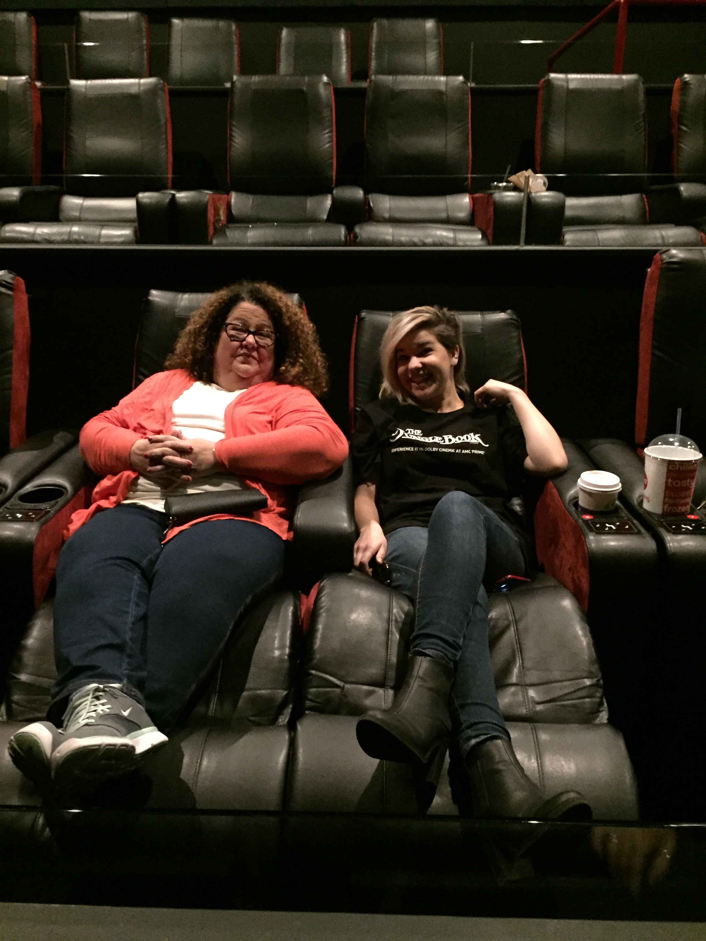 Me & Lucy in the Recliners of Awesomeness.
