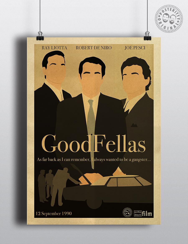 Goodfellas Minimalist Movie Poster Posteritty