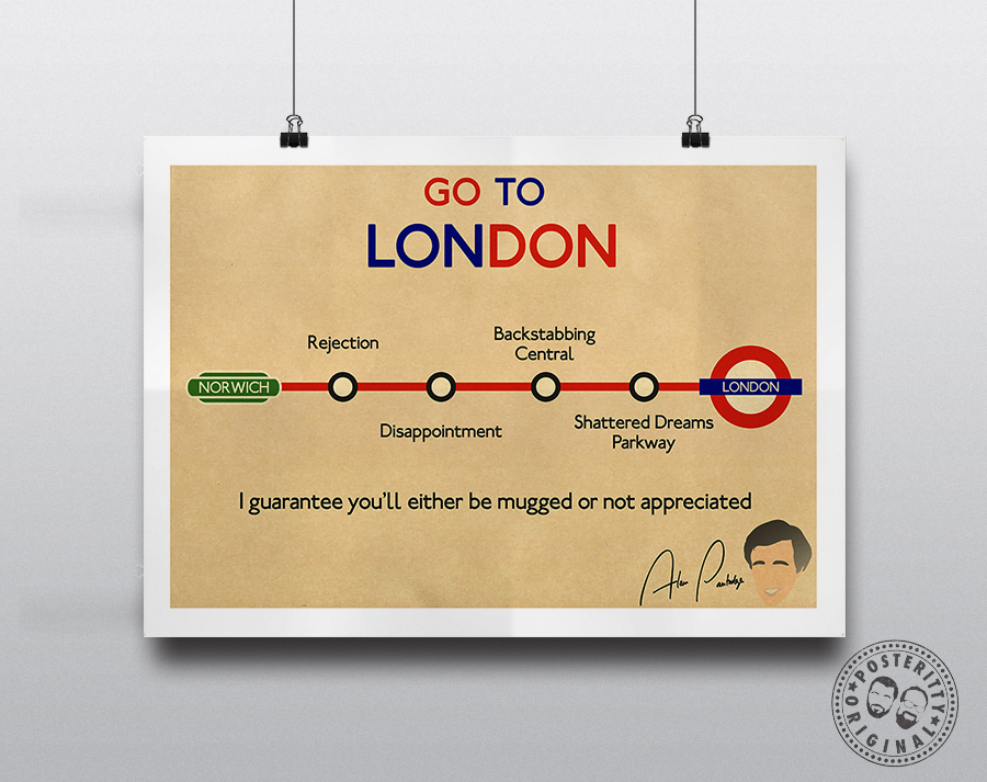 Alan Partridge Go To London I Guarantee Posteritty