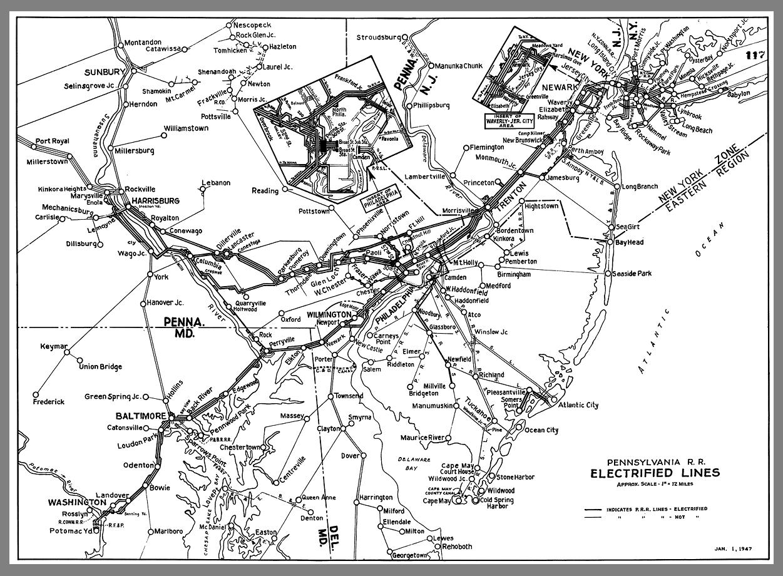 Pennsylvania Railroad Electrification — Michael Froio