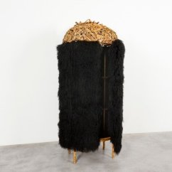 Campana Brothers Favela Chair Leather Rocking Chairs David Gill Gallery Cabinet Caetes 2012