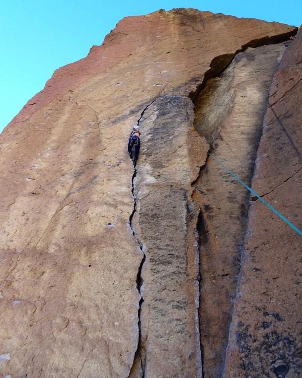 Smith Rock Oregon Climbing