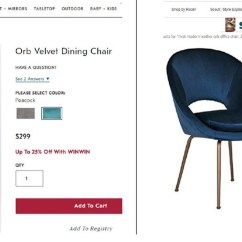 Chair Design Patent Chairman Meaning In Hindi Amazon Slapped With Trademark Lawsuit By Williams Sonoma Image Via Complaint