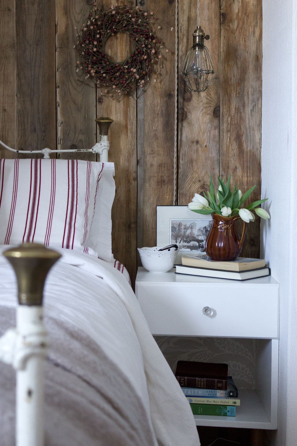 Rustic Guest Room Home Office RefreshSimpleHomeSimpleLife