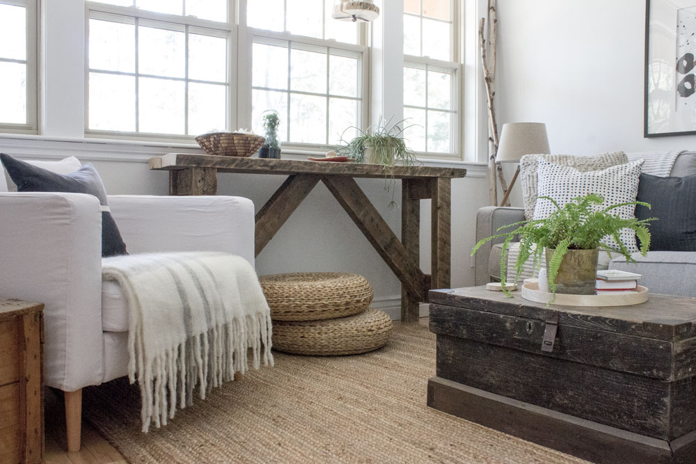 chair covers ikea furniture wood floors office wheels my natural-modern-rustic living room refresh —refreshed designs