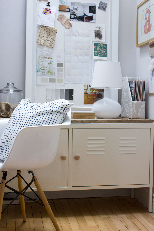 IKEA PS locker barn board hack Refreshed Designs