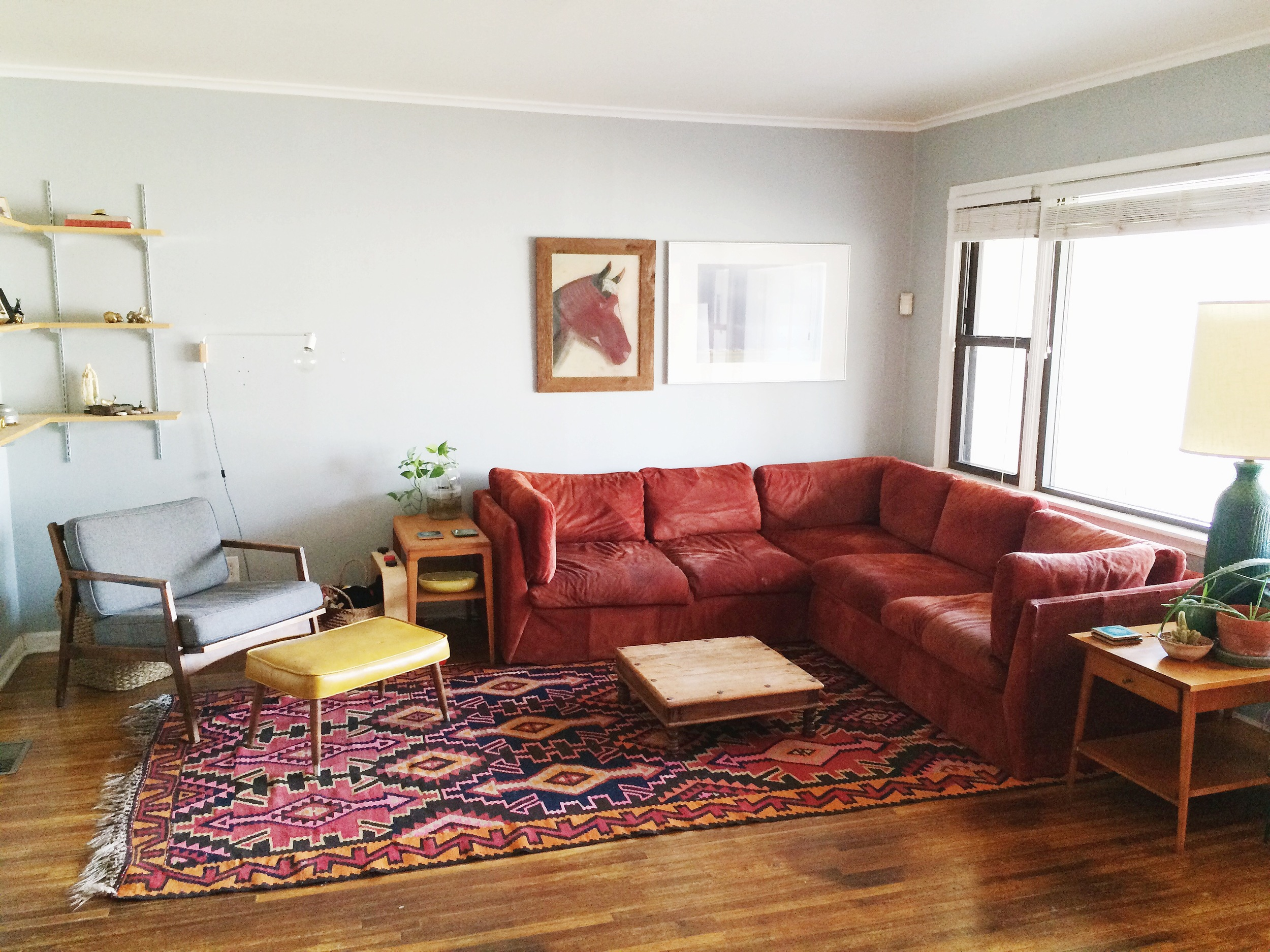 From Country French To Bohemian Modern The Story Of My Living Room Retro Den