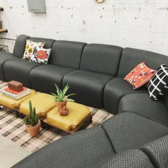 70s Sofa Sleeper Fort Lauderdale Retro Den Featured Pick Vecta Modular Sectional Chunky Low
