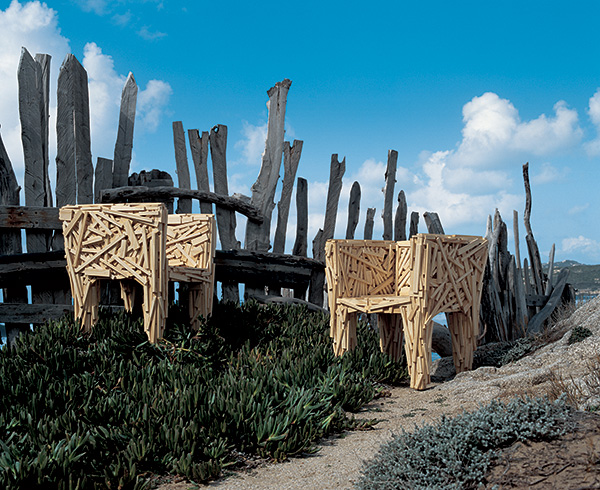 campana brothers favela chair white bertoia side telling stories through design humberto in australia more edra chairs by the