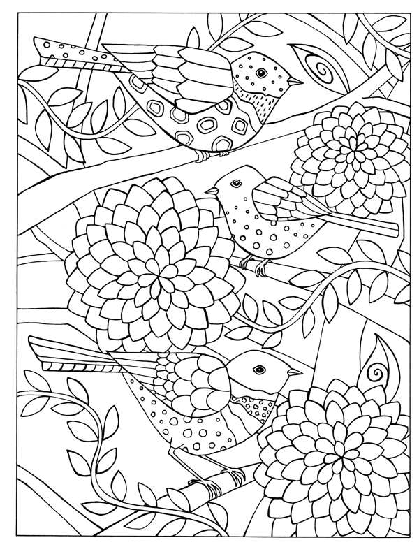 Coloring Books — Short Leg Studio