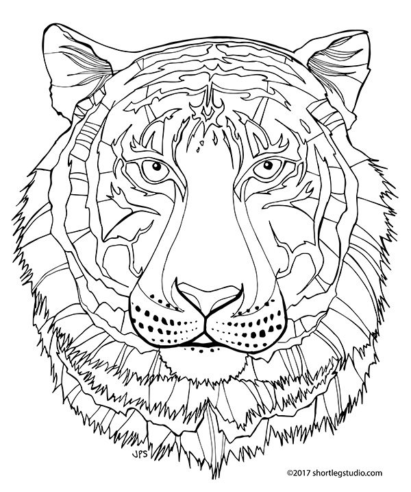 Free Coloring Pages Of Strong Tower