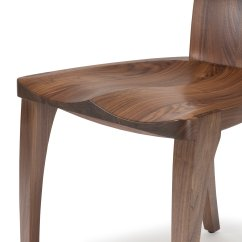 Danish Dining Chair And Ottoman Target Handmade Scandinavian High Back In Solid Walnut Wood Gazelle