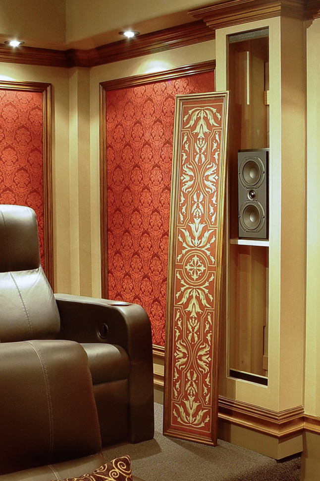 Home Theater Speakers Hidden UltraMedia Inc 1 Home
