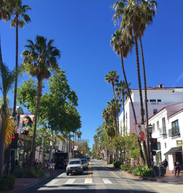 Downtown Santa Barbara California