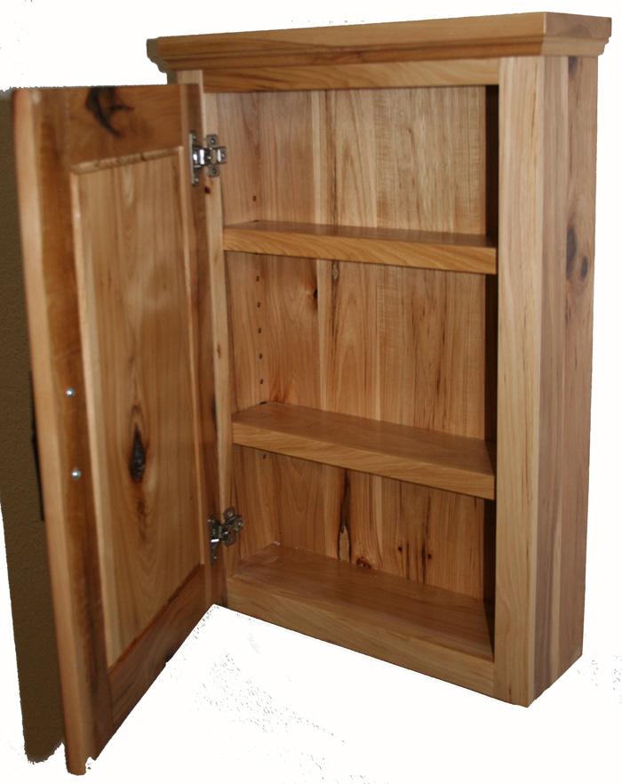 Rustic Hickory Medicine Cabinet  Barn Wood Furniture