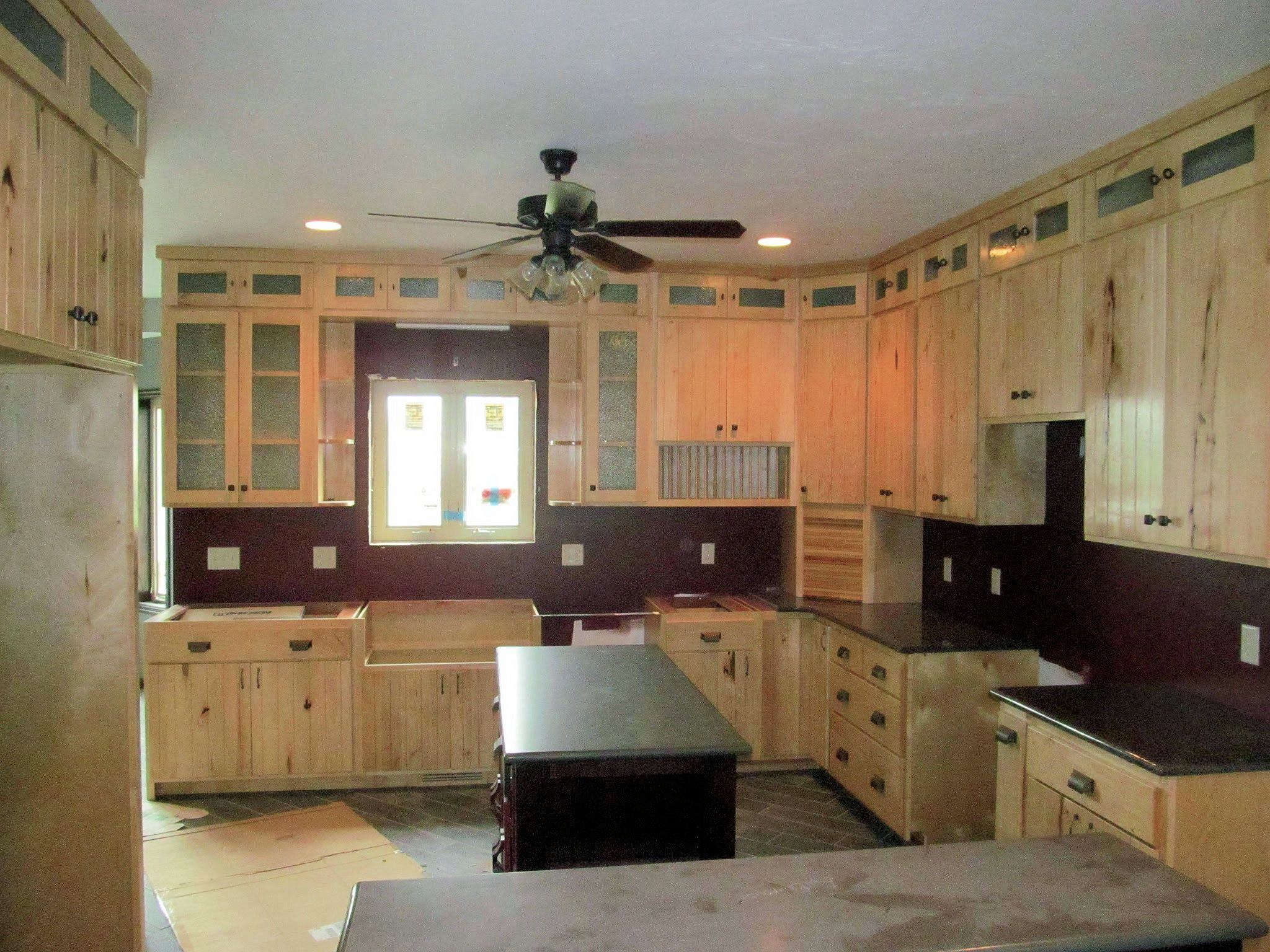 White Hickory Kitchen Cabinets  Barn Wood Furniture