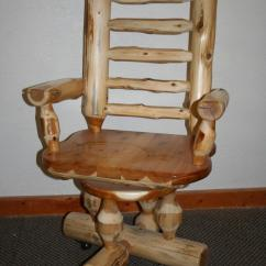 Desk Chair Made Dining Covers John Lewis Cedar Log Barn Wood Furniture Rustic Barnwood And By Vienna Woodworks