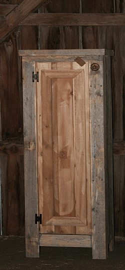 Reclaimed Wood Kitchen Pantry — Barn Wood Furniture Rustic