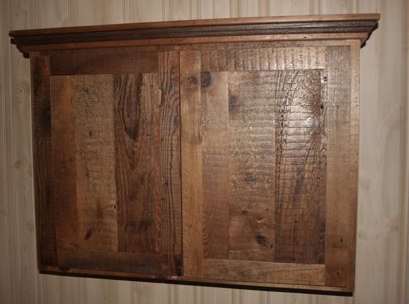 reface old kitchen cabinets natural maple reclaimed barnwood — barn wood furniture ...