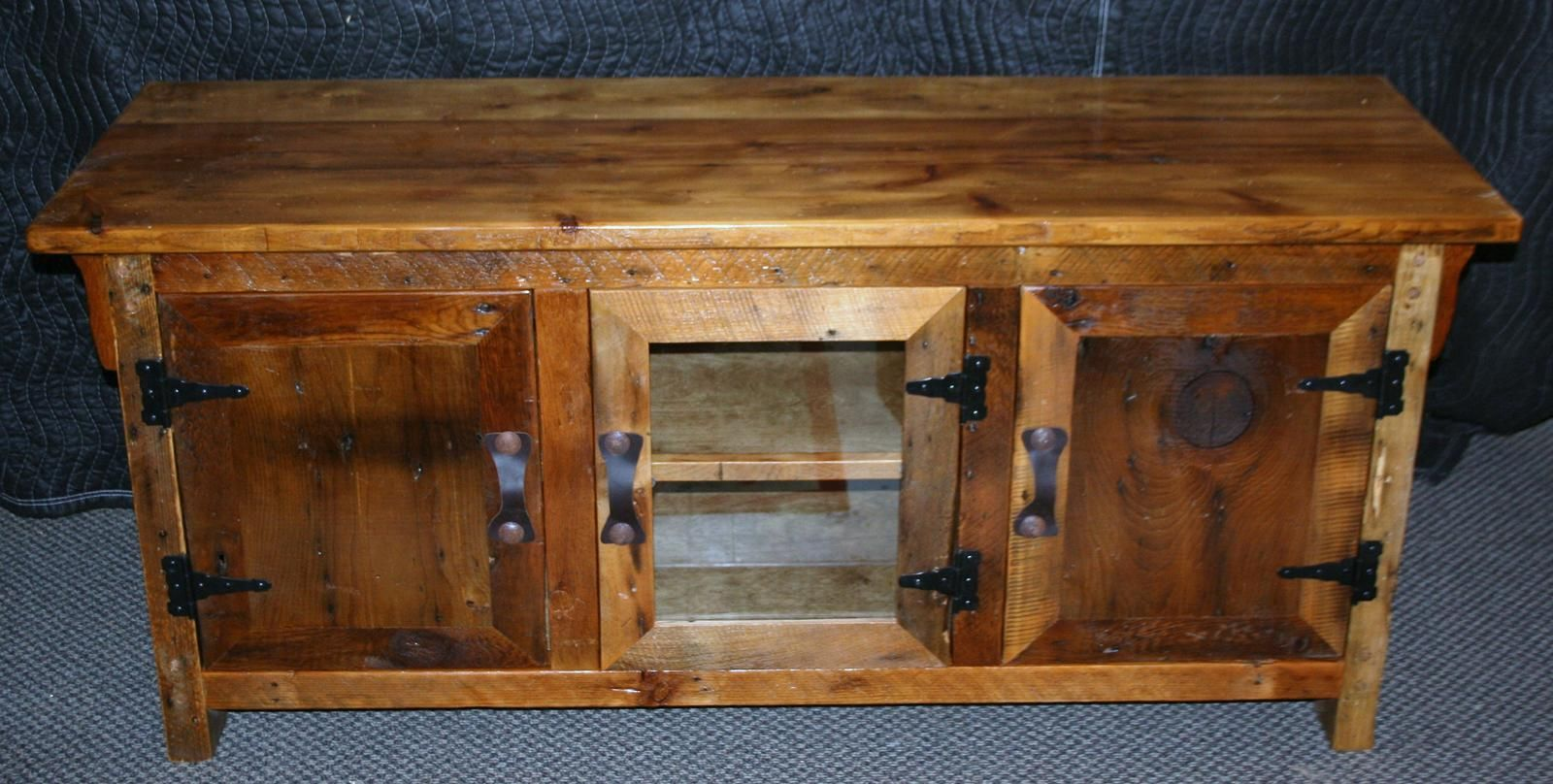 reclaimed wood kitchen shelves wall mounted cabinets antique barnwood buffet — barn furniture - rustic ...