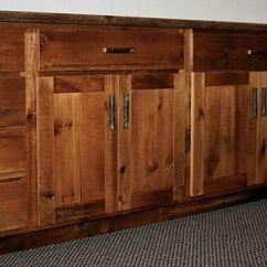Kitchen Cabinets Wood Modern Decor Reclaimed Barnwood Barn Furniture Rustic Lowers 2 Jpg