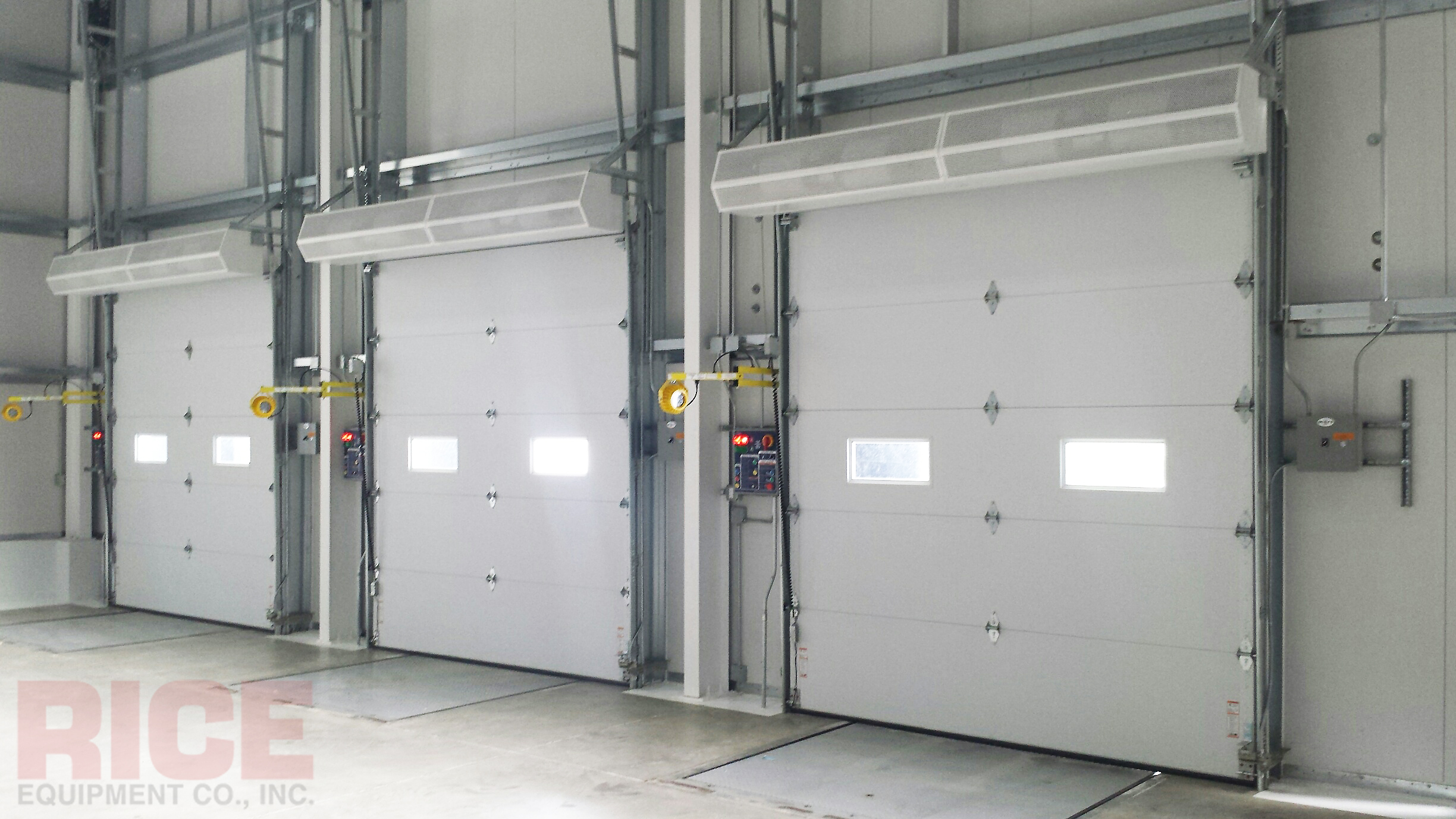 Air Curtains — Rice Equipment Co Loading Dock & Door Service