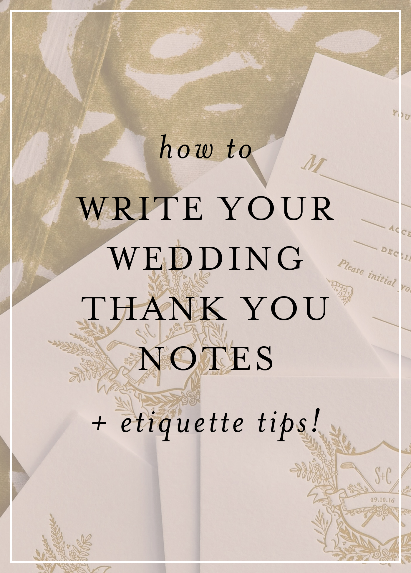 Planning A Wedding Is Time Consuming And Exhausting, And After The Madness  Of The Big Day… You Still Have A Bit Of Work Left Ahead Of You! Writing Thank  You
