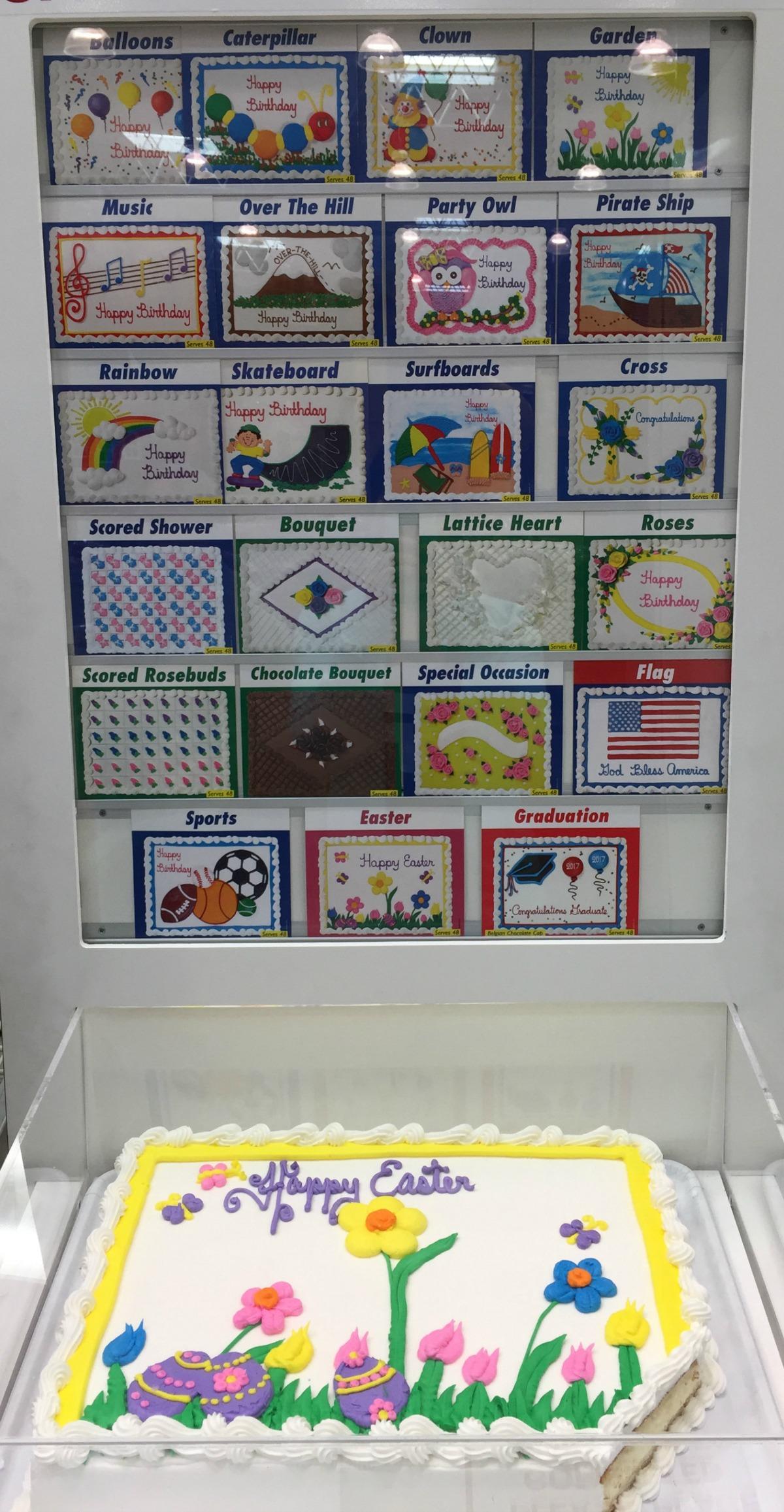 Costco Bakery Birthday Cake Designs
