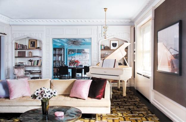 Interiors Darren Browns Modern Glamour Mix  Sukio