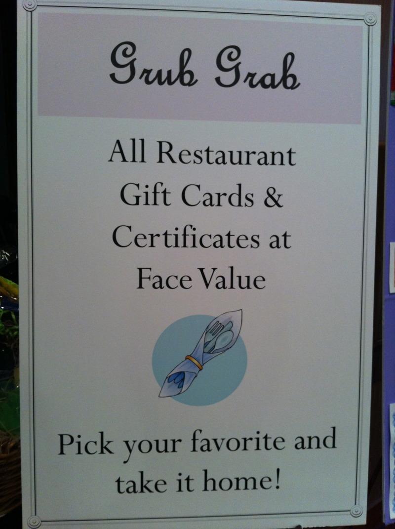 Got Restaurant Gift Cards Start A Grub Grab Charity