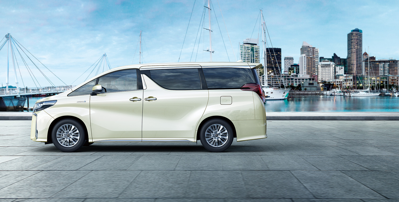 all new alphard facelift harga grand avanza veloz 2018 toyota hq motors 30yrs anniversary package luxury white side profile