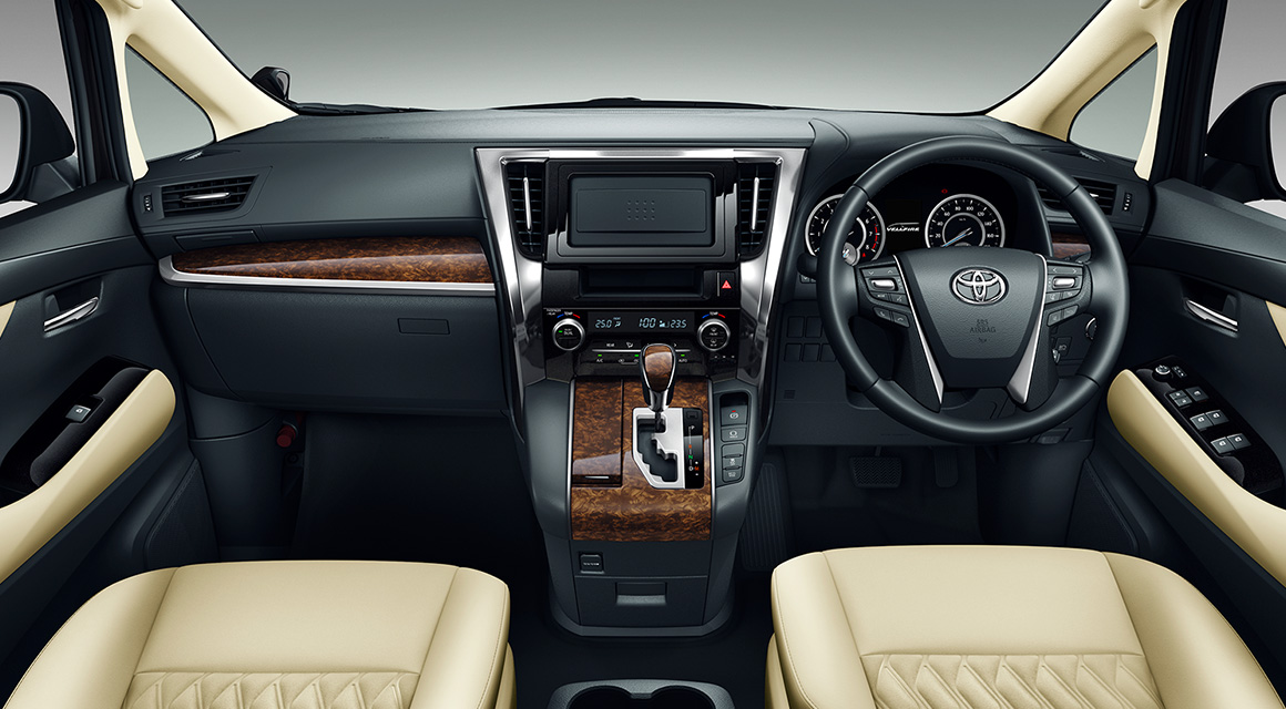 all new vellfire interior grand avanza type g 1.3 toyota hq motors 30yrs anniversary package with dashboard
