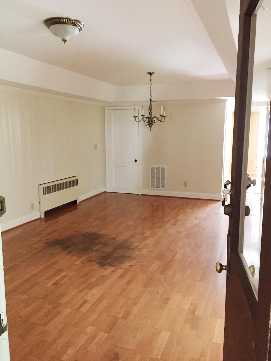 Budget Friendly Faux Wood Floors