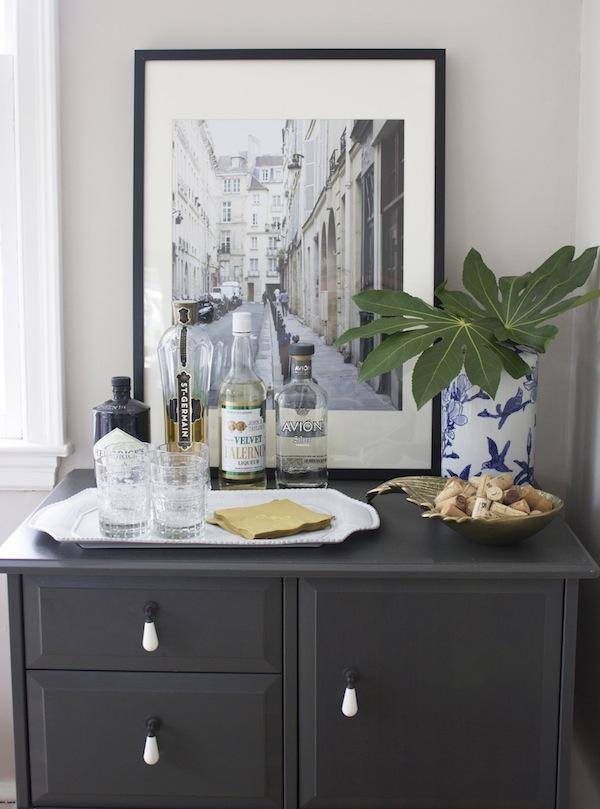 Blue Door Living Dining Room Bar