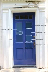 8 Paint Colors For A Blue Front Door - Blue Door Living