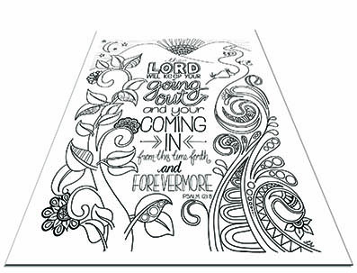 Beautiful Bible colouring pages to download and print