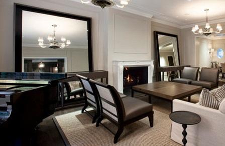 mirrors living room furnishing a small framed custom enhance oversized leaning