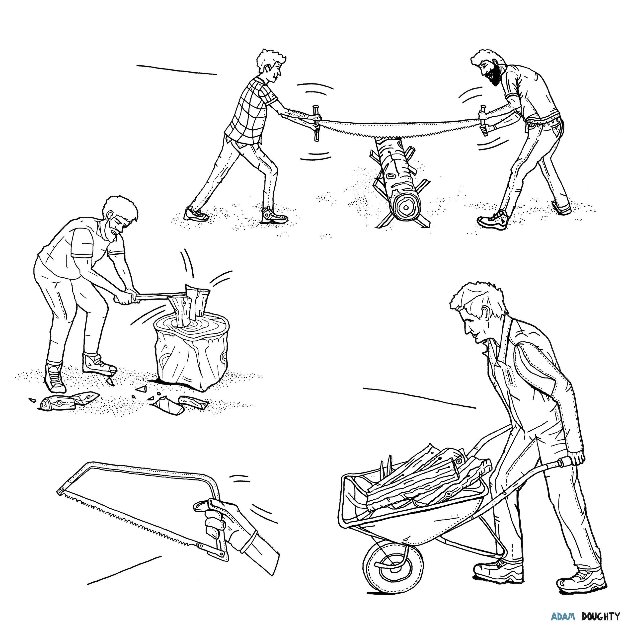 Adam Doughty Illustration