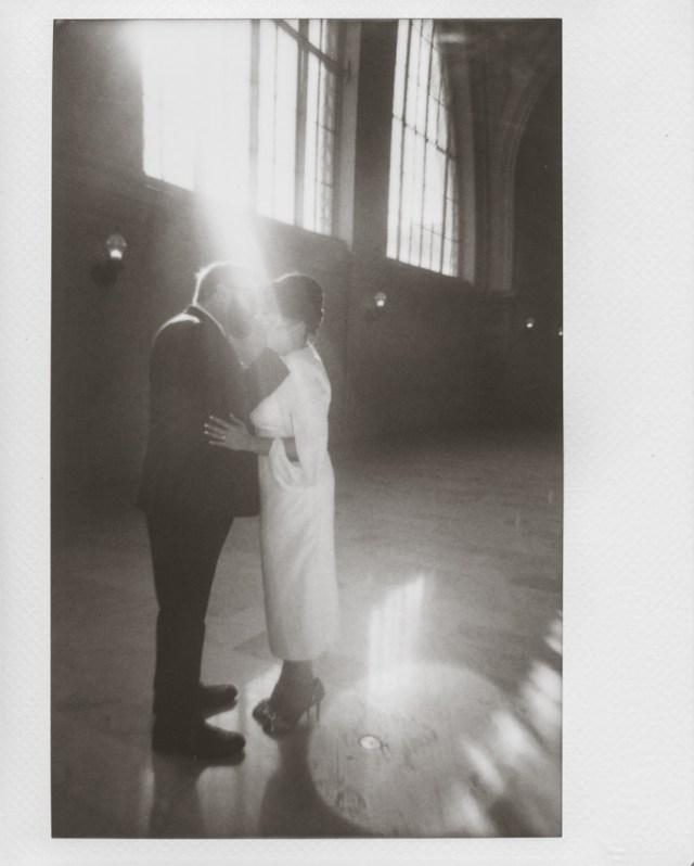 Polaroid mariage hôtel de ville de San Francisco