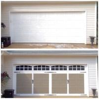 Plum Pretty Decor & Design Co.Faux Carriage Style Garage ...