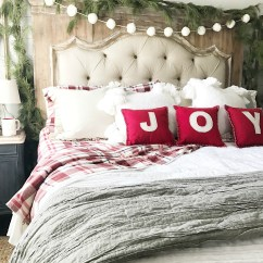 Pictures Of Living Room Decorated For Christmas Wooden Floor Ideas Plum Pretty Decor & Design Co.a Farmhouse Bedroom