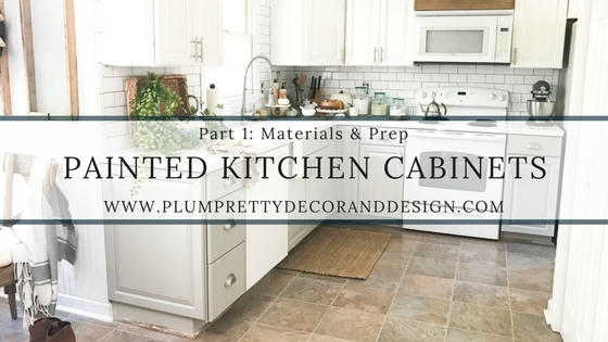 budget kitchen cabinets full plum pretty decor design co painted makeover part 1 materials prep