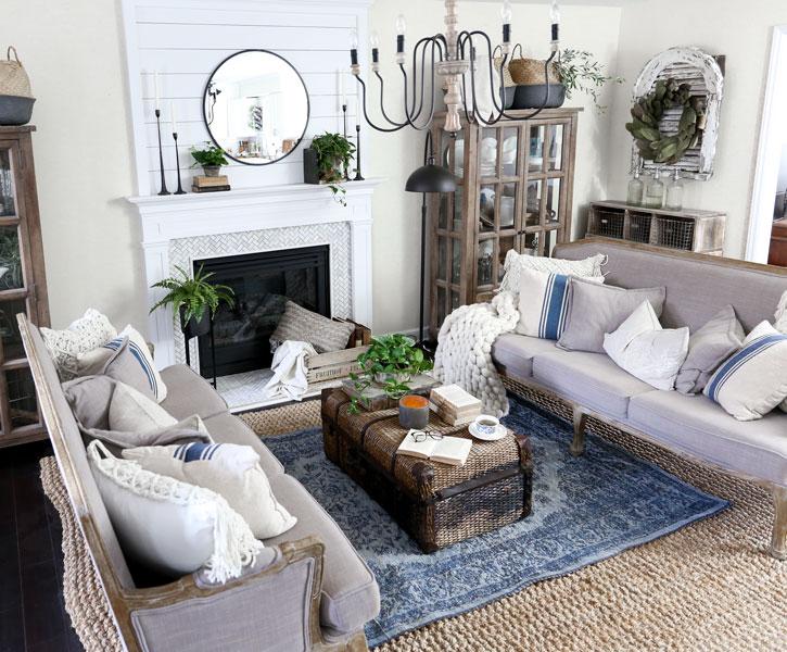 Plum Pretty Decor & Design Co.Spring Living Room Update