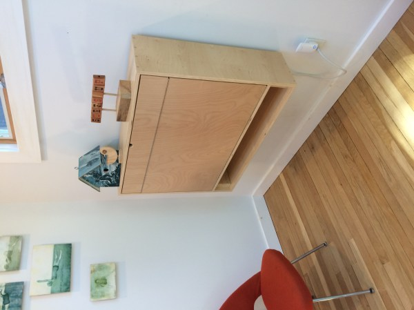 Fold- Wall Desk Crafted