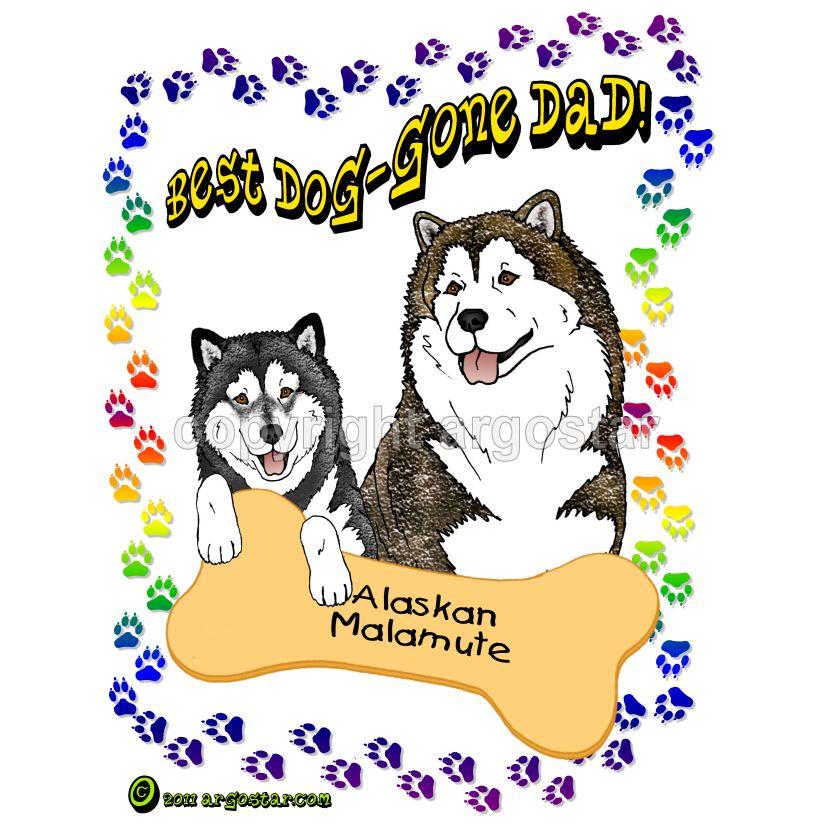 Alaskan Malamute Shop T Shirts Sweatshirts Clip Art