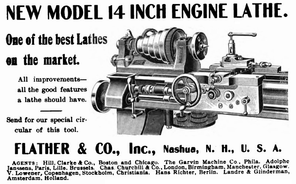 Flather Model 14 Engine Lathe — Charles River Museum