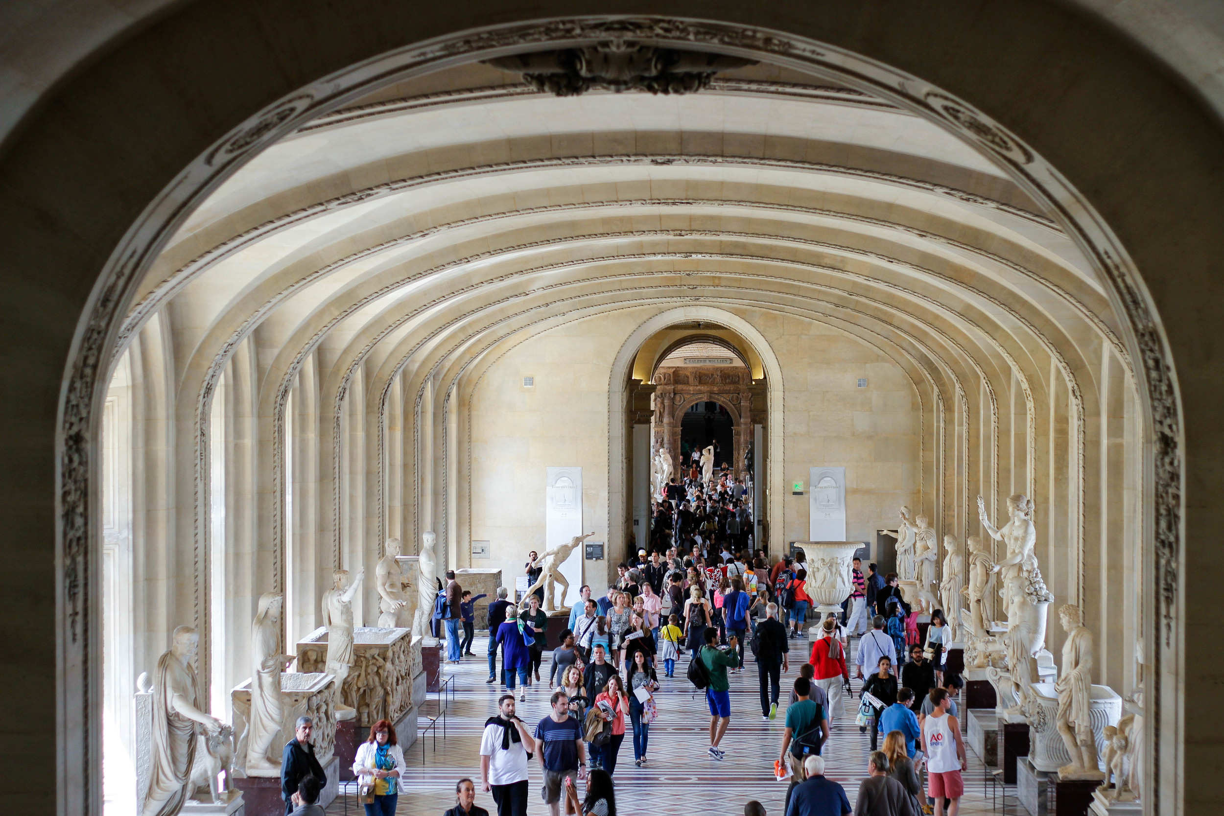 Louvre And Importance Of Travel Paris France Madeline Hall